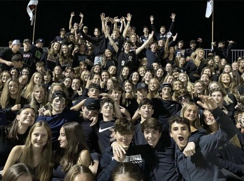 This year the student sections have been large and loud at Rocket sporting events.