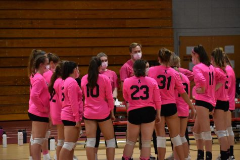 Volleyball Beats Stoneham, Raises Funds for Cancer Research